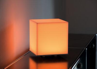 albedo cube sunset