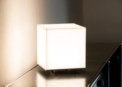 albedo cube warmlicht